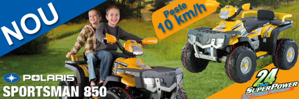 Oferta ATV copii Peg Perego