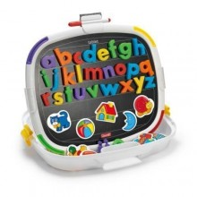 Tablita magnetica litere mici Premium Quercetti