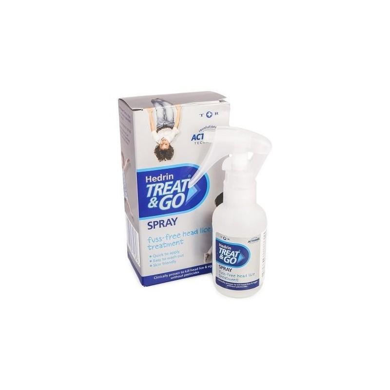 Tratament paduchi Hedrin Treat and Go 60 ml