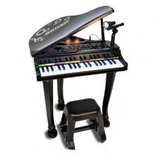 Pianul electronic cu 37 de clape si scaunel Bontempi