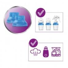 Set 10 recipiente lapte matern Philips AVENT 180 ml
