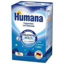 Humana Lapte pentru noapte cu cereale 600 g