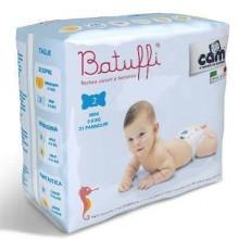 Scutece Batuffi Mini Nr 2 (3-6 Kg) 21 buc