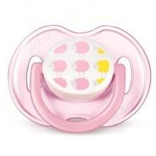 Philips Avent Suzeta 0-6 luni design 1 buc fete