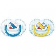 Philips Avent Suzeta 0-6 luni design 1 buc baieti