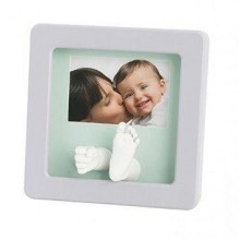 Amprenta Rama Foto 3D Sculpture Frame Pastel Baby Art