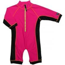 Costum de baie pink black protectie UV Swimpy 1-2 ani
