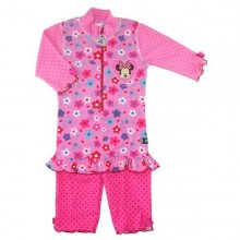 Costum de baie Minnie protectie UV Swimpy 2-4 ani