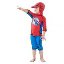 Costum de baie Spiderman protectie UV Swimpy 2-4 ani