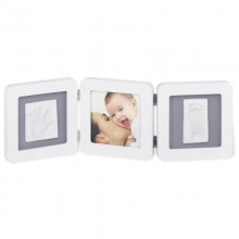 Rama foto amprenta bebe Double Print Frame Baby Art