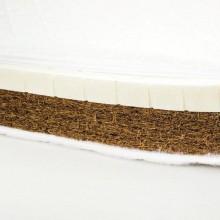 Saltea cocos burete latex Confort 120x60x10 cm
