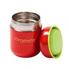 Recipient termic pentru hrana Clevamama 280 ml