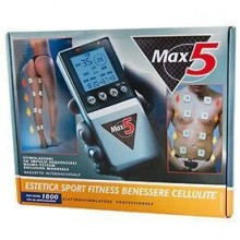 Electrostimulator Professional Max Tesmed 4 canale 12 electrozi