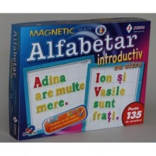 Joc alfabetar magnetic introductiv cifre 135 piese Juno
