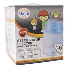 Sterilizator electric pentru 6 biberoane Minut Baby