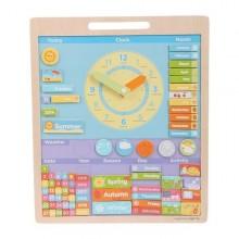 BigJigs Vremea - Calendar magnetic engleza