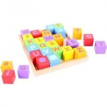 BigJigs Cuburi pentru format cuvinte - ABC