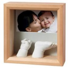 Amprenta Rama Foto 3D Sculpture Frame Baby Art Honey