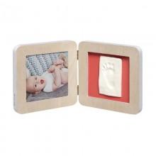Rama foto cu amprenta Baby Art Print Frame Scandinavian Wood 13x13 cm