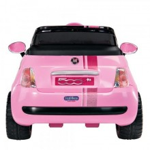 Masinuta Fiat 500 Star Peg Perego roz