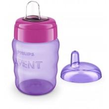 Philips AVENT Cana cu tetina moale 12 luni 260 ml