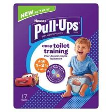 Chilotei pentru antrenament la olita baietei Huggies Pull Ups (8-17 Kg) 17buc