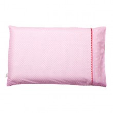 Fata de perna pentru copii roz cu imprimeu 50cmx30cm 7510 Clevamama