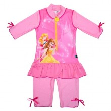 Costum de baie Princess marime 98-104 protectie UV Swimpy