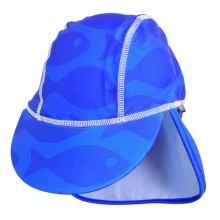 Sapca Fish blue 2- 4 ani protectie UV Swimpy