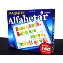 Joc Alfabetar magnetic 160 piese JUNO