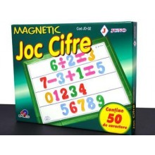 Joc didactic cifre magnetice 50 piese JUNO