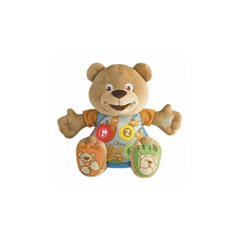 Chicco Jucarie Ursulet Teddy Cantam impreuna 3luni+