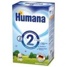 Lapte praf Humana 2 GOS 600gr