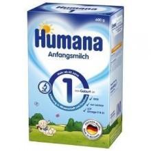 Lapte praf Humana 1 Prebiotic 600gr