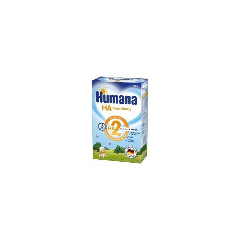 Lapte praf Humana HA2 500 gr sugari alergici