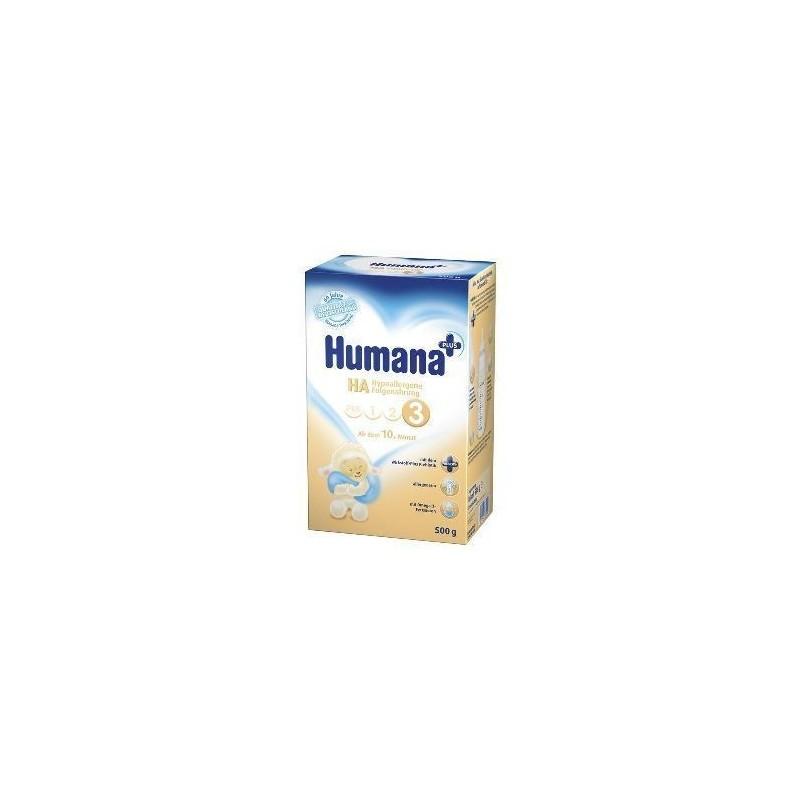 Lapte praf Humana HA3 sugari alergici 500gr
