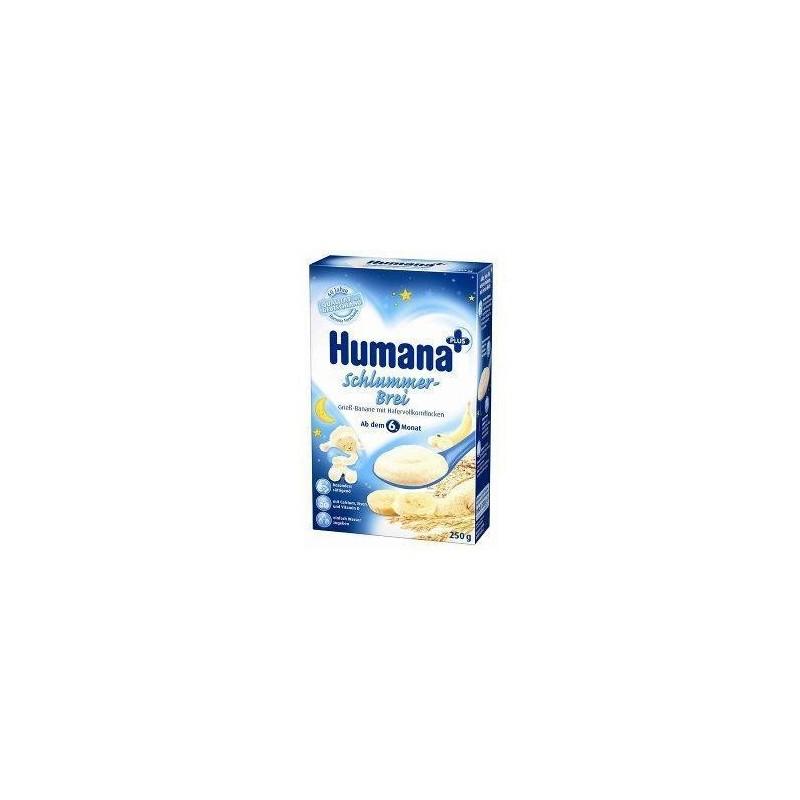 Humana Cereale de noapte cu banane si ovaz 250 gr