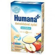 Humana Cereale cu mar fara lapte 200gr