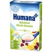 Humana Cereale banane cu cirese 250gr
