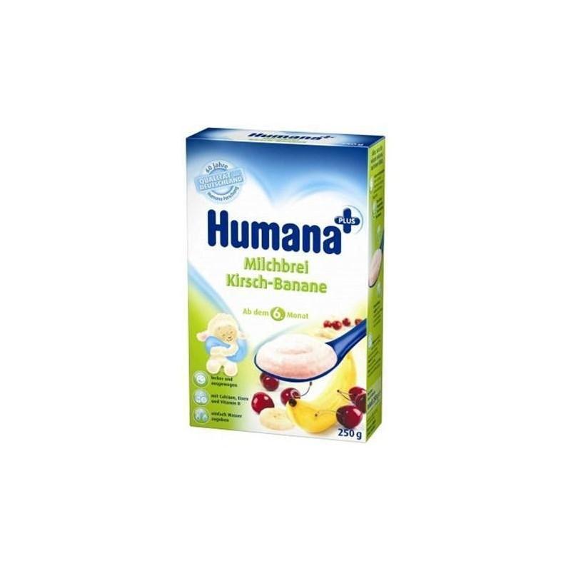 Humana Cereale banane cu cirese 250gr