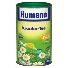 Humana Ceai de plante reglare tranzit intestinal 200 gr