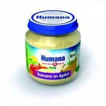 Humana Piure banana si mar 125 gr