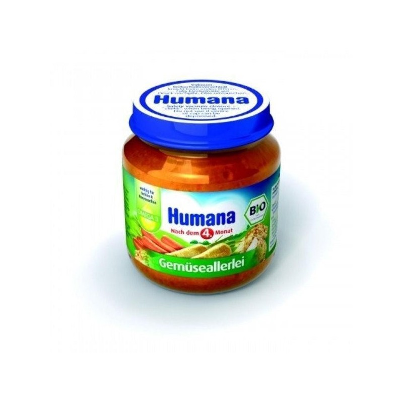 Humana Piure de legume 125 gr