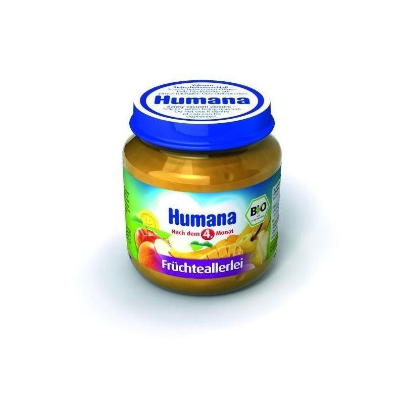 Humana Piure de fructe 125 gr