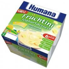 Humana Desert iaurt banane 4x100g