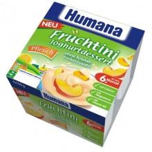 Humana Desert iaurt piersici 4x100g