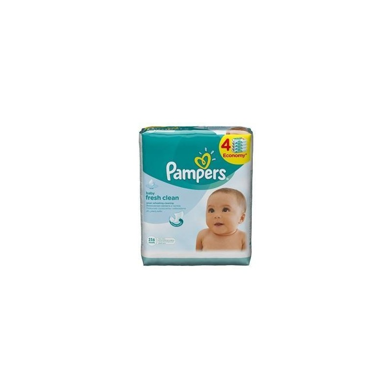 Servetele umede Pampers Baby Fresh 4x64buc