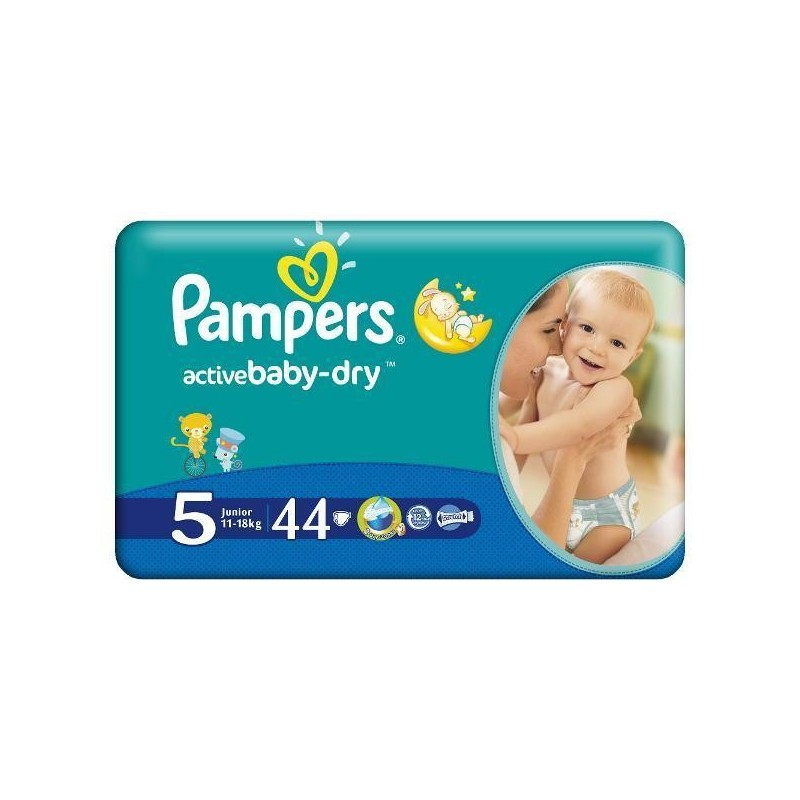 Scutece Pampers Active Baby Junior Nr 5 44buc