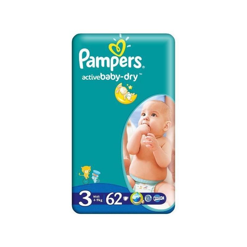 Scutece Pampers Active Baby Midi Nr 3 62 buc