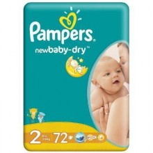 Scutece Pampers New Baby Mini Nr 2 72buc 3-6kg